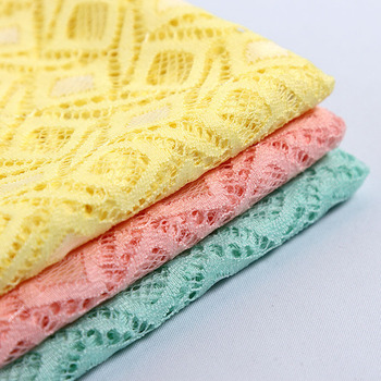 Stretch lace fabric DIY craft cloth summer fall skirt and dress fabric 3 Yards/lot lace fabric