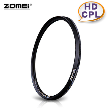 Zomei 77mm hd cpl dairesel polarize multi-coated cam filtre montaj dönen 49/52/55/62/67/72/77/82mm